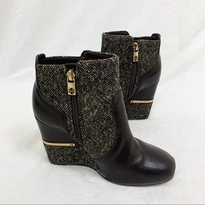 Tory Burch Cherie Wedge Ankle Boot 6.5